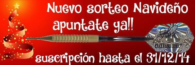 Sorteo Dardos ManuelGil.com Diciembre