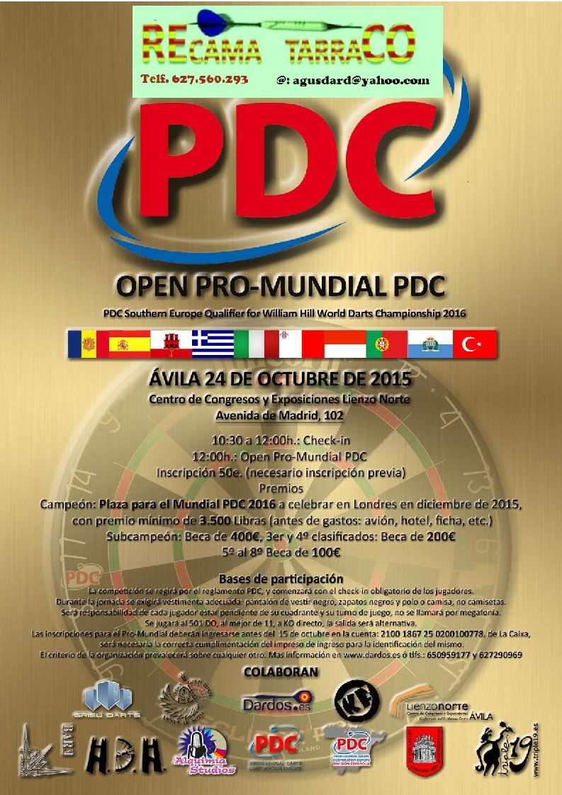 PRECIO CAMPING CAMPEONATO SOLIDARIO  21-04-2015    ESTE     1