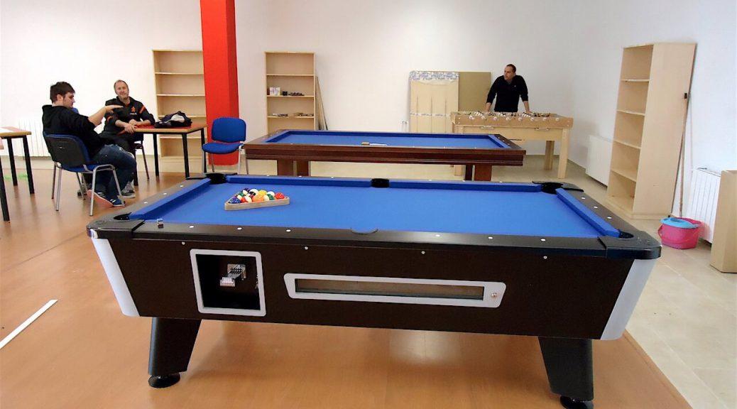 Medidas de una mesa de billar y espacio mínimo requerido para su instalación