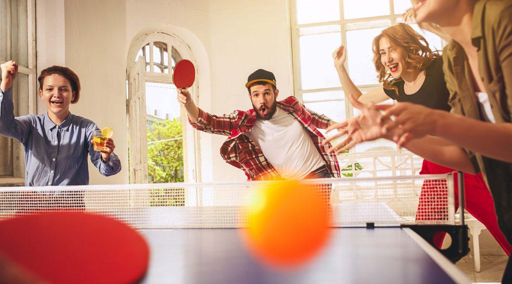 Diviértete en verano con una mesa de ping pong en casa