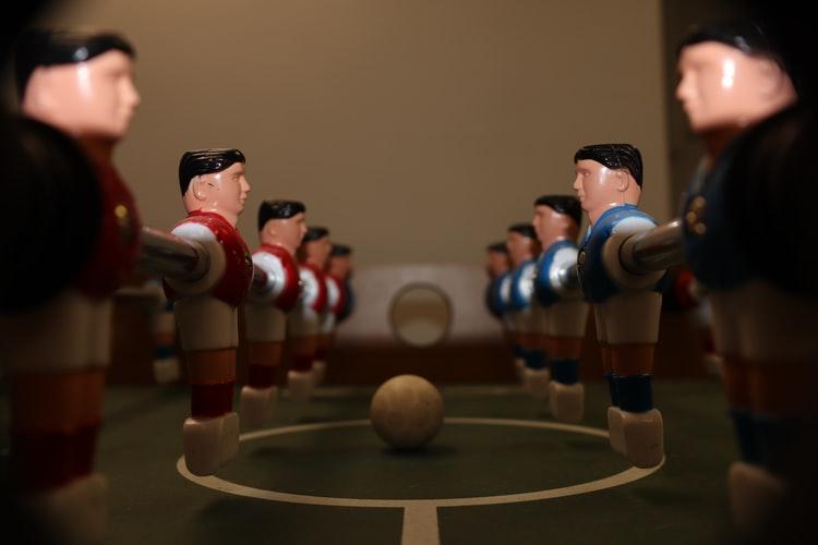 Pelota futbolín | Materiales y pesos